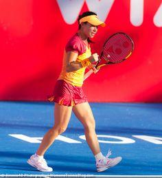 Zheng Jie during her victory over Misa Eguchi in Hong Kong, full gallery: http://www.womenstennisblog.com/2014/09/09/2014-hong-kong-open-heat-tuesday-highlights/