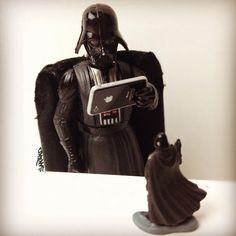 Even Vader is into toy photography.   - @santlov- #webstagram