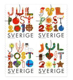 Swedish Christmas seals