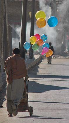 Balloon Seller, Pakistan