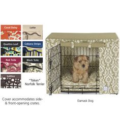 Crate Cover - Dog Beds, Dog Harnesses & Collars, Dog Clothes & Gifts for Dog Lovers | In The Company of Dogs