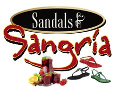 Sandals & Sangria Have the guests wear their favorite sandals, vote on the cutest....she gets a prize....Oh, & how about a Sangria....YUM!! #ThirtyOneParty