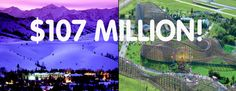 The #MegaMillions jackpot is at $107 million! If you won tonight's jackpot, would you rather...buy your own mountain resort or buy your own water park?!