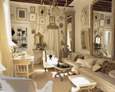 dream french pied a terre living space--stephen shubel paris living room