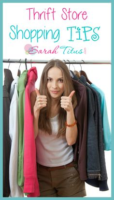 Thrift Store Shopping Tips #savemoneythriftstores