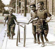 histori, canada, vintag photo, roll hoop, kids, public libraries, rolls, rememb roll, outdoor games
