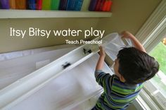 Itsy bitsy spider water play