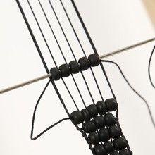 Bead Bracelet made on a Bead Loom