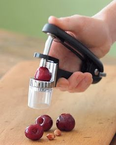 Cherry Pitter :: 30 Kitchen Gadgets ~ to Make Your Life Easier!