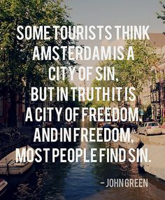 I loved Amsterdam! It captures my imagination, canals, tulips, and right outside the city windmills!