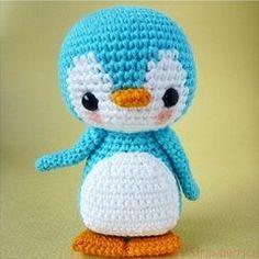 Pen-Pen the Penguin - crochet amigurumi pattern