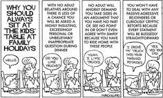 The Kids' Table is always best! | Medium Large on GoComics.com #humor #comics