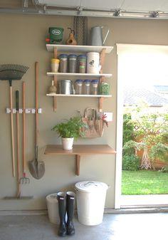 Our garage garden station
