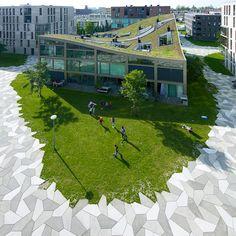 Funenpark in Amsterdam by LANDLAB studio voor landschapsarchitectuur (Arnhem) in collaboration with O.S.L.O (Berlicum)