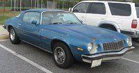 1977 Chevy Camaro (Burlinetta)- Drove the same car in college. Good memories.
