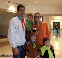 The Scooby-Doo Gang - Homemade Halloween Costume
