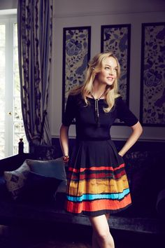 love.this.look. Pinceau Dress #anthrofave #anthropologie