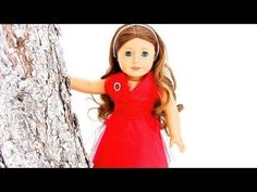 How to Make a No-Sew Doll Dress with Optional Sewing, great for dolls from American girl and Barbie to Monster High
