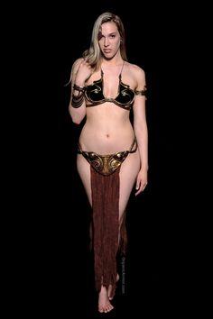 Pincess Leia set, model: Nicole Salyer, photographer: Nic Adams