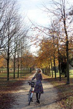 rented bicycle, les jardins de Versailles, 11.13.11