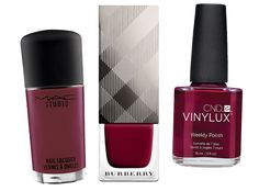 Try some new mani colors for fall - WINE from #InStyle