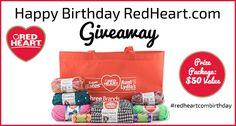 Celebrate RedHeart.com's Birthday