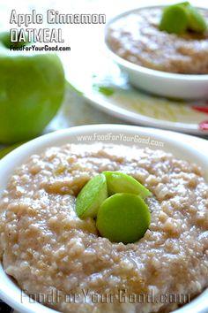 The Best Oatmeal | FoodForYourGood.com #oatmeal