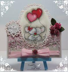 Handmade card,  Anniversary, Wild Rose Studio