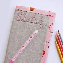 Sketch Book Cover tutorial