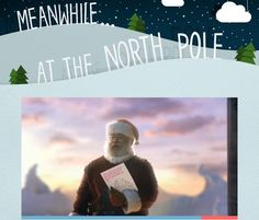 """If your kids want to """"see"""" Santa holding their letter to him, this Facebook app from Canon is awesome!"""