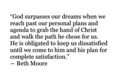Growing up-- I  remember my mom always listening to Beth Moore.. And now I can see why !