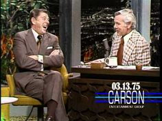 Ronald Reagan Talks About Balancing the Budget on Johnny Carson's Tonight show. Good Times and when balancing the budget was actually considered as reality.