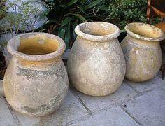 French Antique Provencal Biot Jar