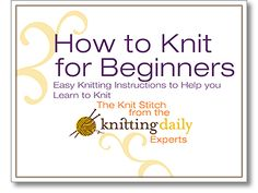 How to Knit for Beginners