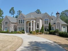 million dollar home! love the outside color!