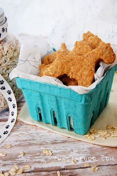 5 ingredient peanut butter dogcookies