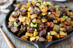 Steak Tip Hash - Pin