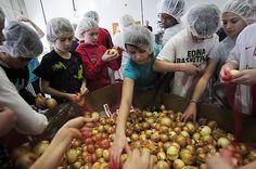 Volunteering at Second Harvest Heartland