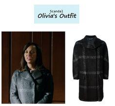 "On the blog: Olivia Pope's (Kerry Washington) check coat | Scandal - ""No Sun on the Horizon"" (Ep. 313) #tvstyle #tvfashion #outfits #fashion #gladiators olivia pope, year long, dress olivia, check coat, scandal fashion, outfit fashion"