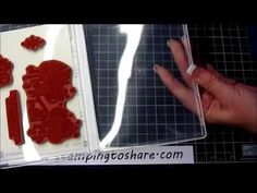 Pick a Pack of Paper and How I Assemble My Clear Mount Stamps with How To Video, Kay Kalthoff is Stamping to Share with Stampin' Up!