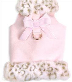 Pink Leopard Muff Jacket