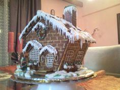 Saskatchewan Roughrider Gingerbread House — Gingerbread Houses