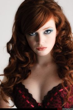 Beautiful Mahogany Hair Color!  If you are thinking of coloring your hair Mahogany, try Light Mountain http://www.lotusbrandsmall.com/item.php?item=187120