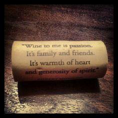 Wine quote.