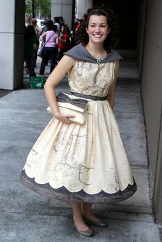 Middle Earth Map Dress