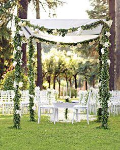 Great wedding arch