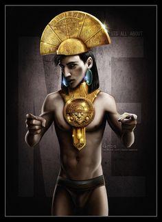 Disney Heroes - Emperor Kuzco by *davidkawena on deviantART