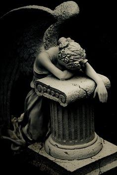 weep angel, cemeteri, fallen angels, art, stone, statu, sculptur, black, weeping angels