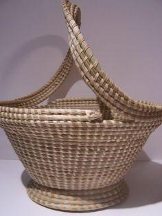 Corey Alston Sweetgrass Basket