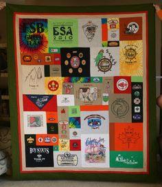 Eagle scout quilt